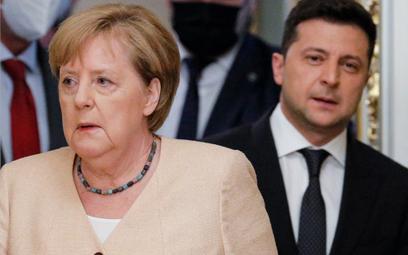 Angela Merkel: Rozumiem obawy Ukrainy