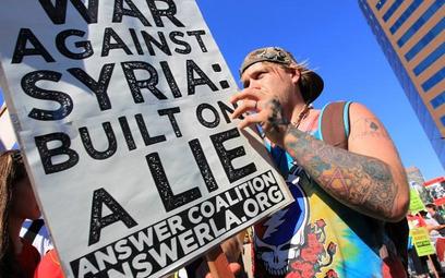 W USA nie ustają protesty przeciwko militarnej interwencji w Syrii