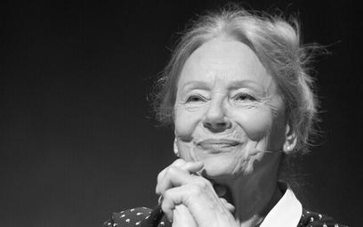 Nie żyje aktorka Barbara Połomska