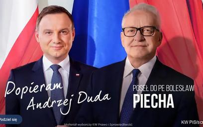 Wizerunek prezydenta na plakatach wyborczych. Bez zgody