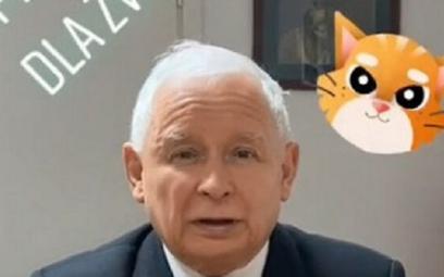 Jarosław Kaczyński namawia w mediach społecznościowych do poparcia projektu ustawy w sprawie zakazu