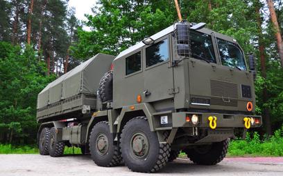 Artyleryjski wóz amunicyjny AWA. Fot./HSW