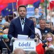 Rafał Trzaskowski w czasie kampanii przed wyborami prezydenckimi w Polsce