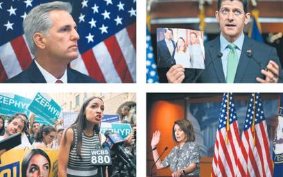 48-letni Paul Ryan (z prawej u góry), republikański przewodniczący Izby Reprezentantów, postanowił p
