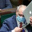 Kancelaria Sejmu nie chciała specjalnego systemu ochrony, bo posłowie (na zdj. Antoni Macierewicz) b