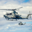 Śmigłowiec bojowy Bell AH-1Z Viper.