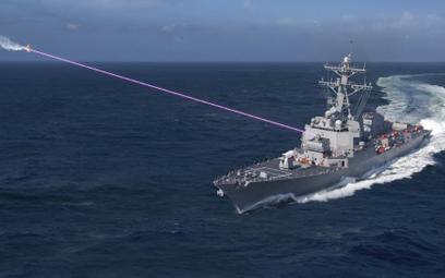 Po co działka? Amerykanie instalują na okrętach lasery