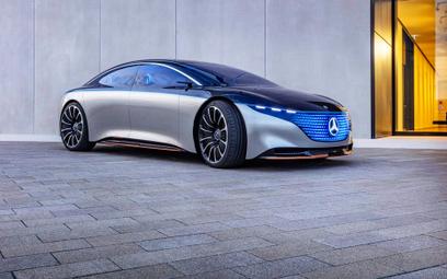 Mercedes chce pokonać Teslę. 700km zasięgu w elektryku