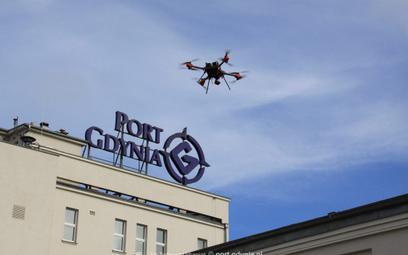 Drony strzegą portu w Gdyni