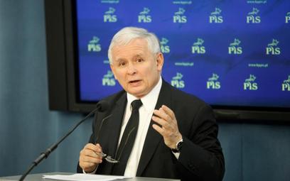 Szef PiS Jarosław Kaczyński