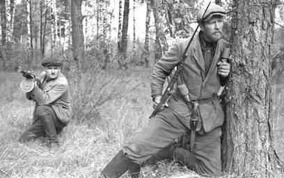 Sowieccy partyzanci na Białorusi (1943 rok)
