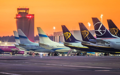 Katowickie lotnisko w 2020 roku straciło 70 procent pasażerów