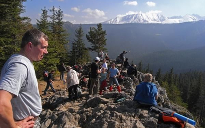 Tatry przeżywają oblężenie, korki na szlakach