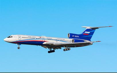 Rosyjski Tu-154 pojawi się nad Niemcami
