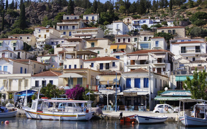 Grecka wyspa Poros objęta reżimem sanitarnym