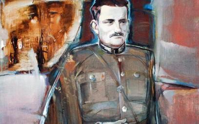 Porucznik Adolf Pilch, cichociemny, partyzant trzech puszcz, emigrant. Fot. Anatol Chomicz