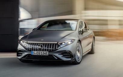 Pierwszy Mercedes-AMG z napędem całkowicie elektrycznym