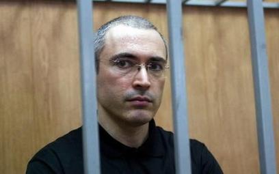 Michaił Chodorkowski odsiaduje w Rosji wyrok 14 lat więzienia