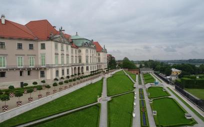 Ogród Górny przy Zamku Królewskim