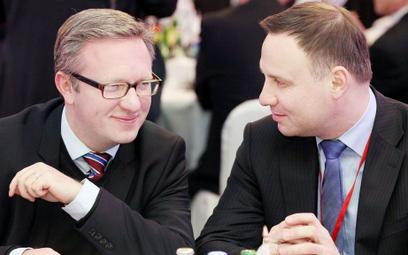 Krzysztof Szczerski i prezydent Andrzej Duda