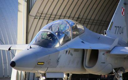 Samolot szkolenia zaawansowanego Leonardo M-346 Bielik. Fot./4. Skrzydło Lotnictwa Szkolnego.
