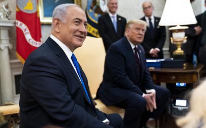 Premier Beniamin Netanyahu zaszcze- -pił się w Izraelu jako pierwszy