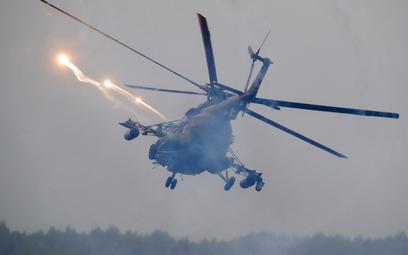 Zapad-2017: Helikopter przypadkowo wystrzelił pociski
