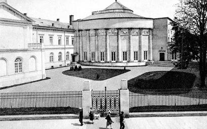 Nowy gmach Sejmu, Warszawa, 1930 r.