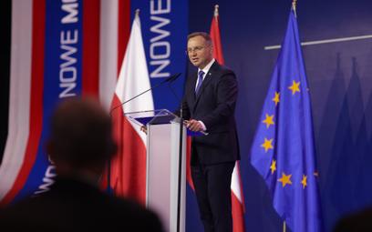 Prezydent Andrzej Duda wskazywał  na możliwości rozwoju współpracy obu krajów.