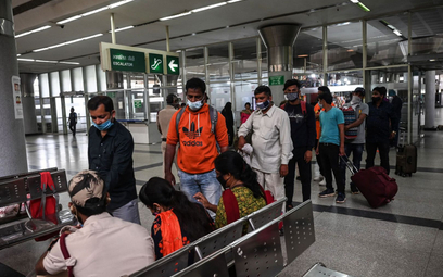 Koronawirus. Indie: Zakażeń najwięcej od 23 października