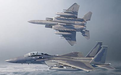 Wizja wielozadaniowego samolotu bojowego Boeing F-15EX Advanced Eagle. Rys./Boeing.