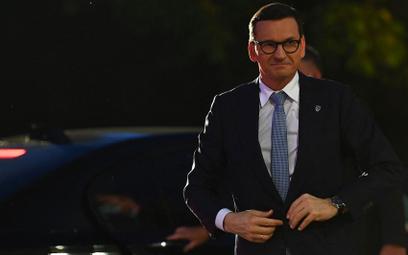 Morawiecki chce  przedstawić stanowisko Polski przed PE