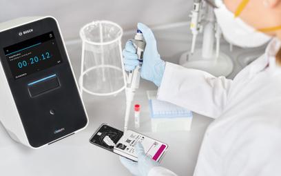 Bosch wynalazł szybki test na koronawirusa. Wynik w 2,5 godziny