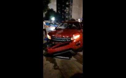 Chiny: Wjechał samochodem w tłum. Nie żyje co najmniej 9 osób