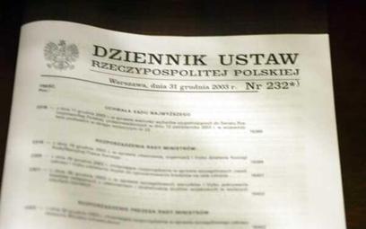 Plany legislacyjne w nowym kształcie