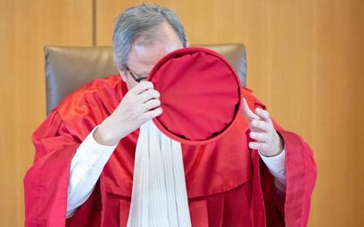 Ważny dla kraju i Unii Europejskiej wyrok ogłosił przewodniczący niemieckiego trybunału Andreas Voßk