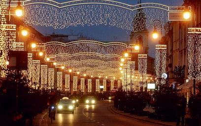 Las na placu Zamkowym, 120 tysięcy lampek na Nowym Świecie