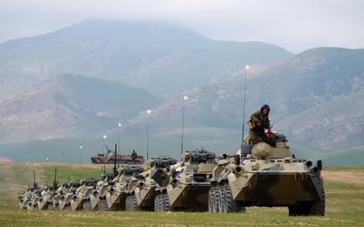 Wspólne ćwiczenia rosyjsko-tadżyckie. Fot./ mil.ru.