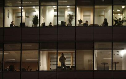 Niepokój w firmach zależy od branży