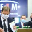 Marian Banaś nie tłumaczył się z zarzutów prokuratury, za szefa NIK robił to mec. Marek Małecki