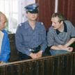 13 lipca 1984 r. – pierwszy dzień procesu. Na ławie oskarżonych zasiedli: Jacek Kuroń, Adam Michnik,
