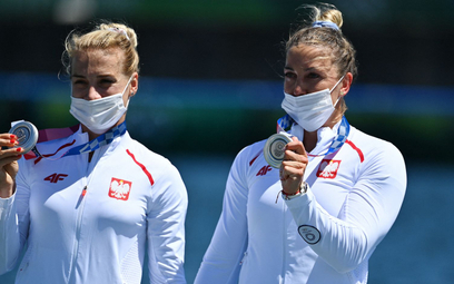 Karolina Naja i Anna Puławska zdobyły srebrny medal