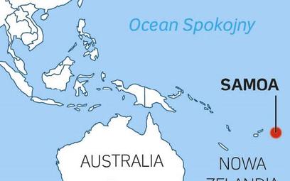 Malutkie i biedne Samoa rzuca wyzwanie Chinom