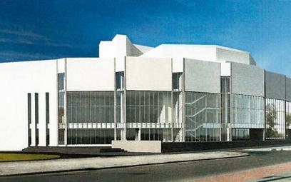 Projekt rozbudowy Teatru Muzycznego
