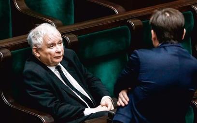 Po wakacjach dojdzie do rekonstrukcji rządu. Na zdjęciu: Jarosław Kaczyński, prezes PiS i Zbigniew Z