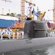Południowokoreański okręt z pokładu którego wystrzelono rakietę SLBM