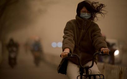 Chiny: Burza piaskowa w Pekinie. Największa od dekady