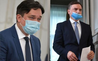 Marcin Wiącek i Zbigniew Ziobro