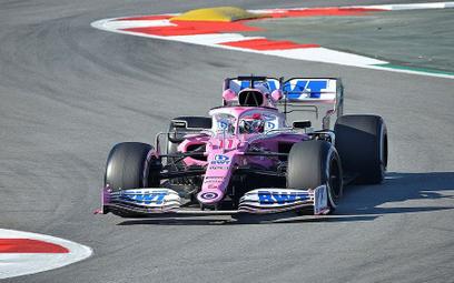 Koronawirus w Formule 1. Sergio Pérez z dodatnim wynikiem testu