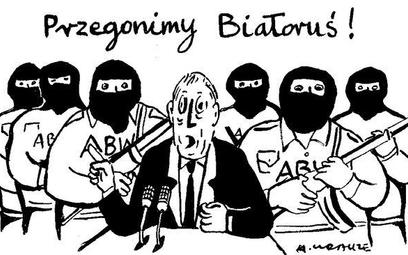 Komentarz rysunkowy. Przegonimy Białoruś